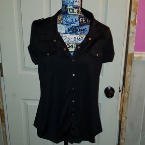 BCBG short sleeve blouse